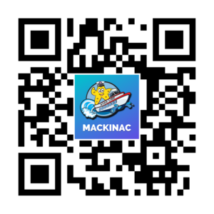 Mackinac Ferry App QR code