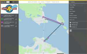 Mackinac Ferry App